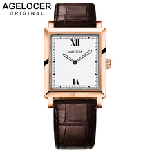 Swiss Top Fashion Luxury Agelocer brand Woman Dress Watches Lady 6.2mm Ultra Thin Watch For Women Quartz Watch relogio feminino
