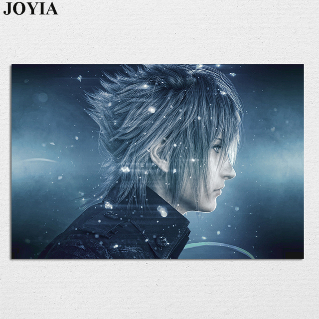 Noctis Character Action Final Fantasy Xv Poster Animal Figure Wall Picture Home Large 20×30 Inch 24×36