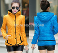 2016 On Sale Mandarin Collar girl outerwear Feminino Inverno Wadded Jacket Winter Autumn Slim Office Ladies Coats