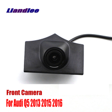 цена на Liandlee Car Front View Camera AUTO CAM For Audi Q5 2013 2015 2016 Logo Embedded Camera ( Not Reverse Rear Parking Camera )