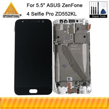 "5.5"" Original Axisinternational For ASUS ZenFone 4 Selfie Pro ZD552KL LCD Display Screen+Touch Panel Digitizer Frame ZD552KL"