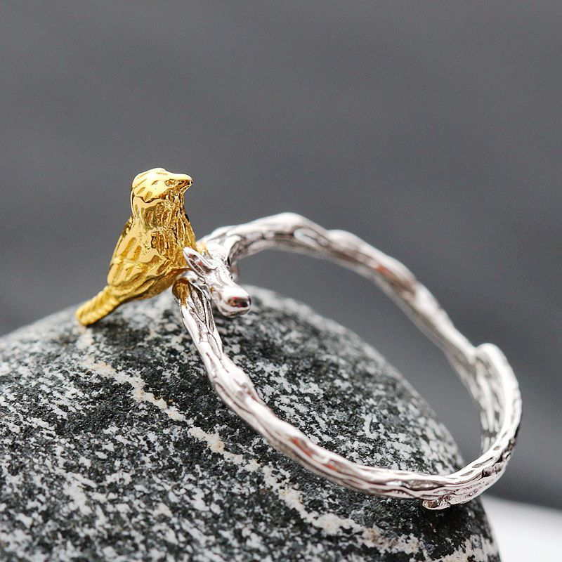 все цены на 925 Sterling Silver Ring handmade silver plated gold silver ring