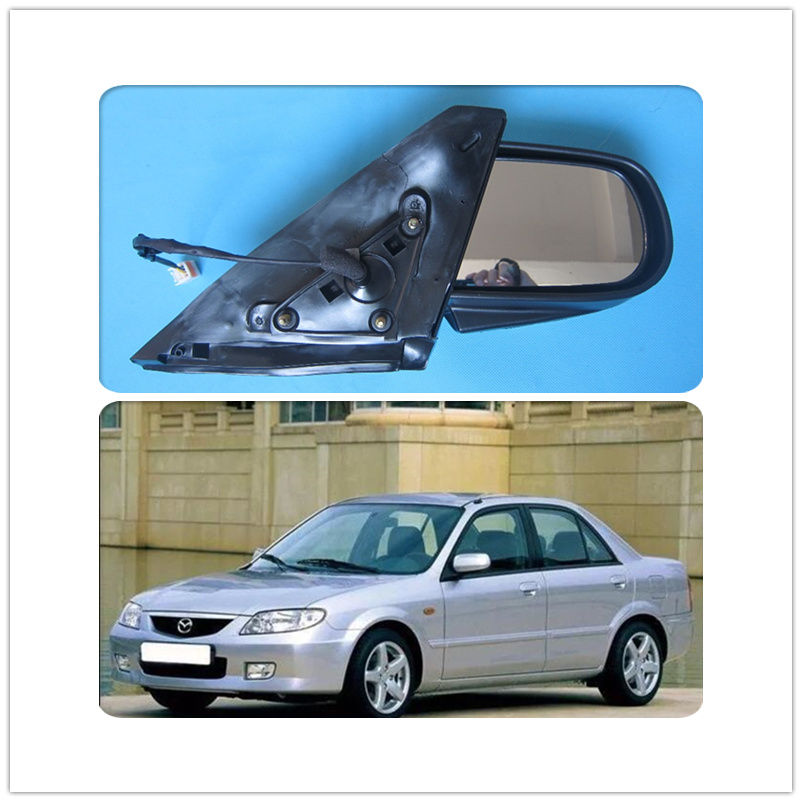 body part free shipping door mirror for mazda 323 protege BJ 1998 2005 oem BVED 69