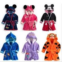 New Winter High Quality Children S Bathrobe Micky Minnie Mouse Tigger Bathrobes Boy Girl Dressing Gown