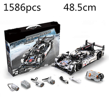 NewtoyTechnic Series Porsche 911 Design Assembly Module High Simulation Cool Car Modeling Remote Control Toys For Children