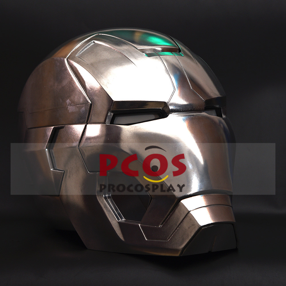 Iron Man 3 Tony Stark MK42 Cosplay Helmet Aluminum alloy Version mp003730 iron man 3 tony stark mk4 mk42 mk6 light