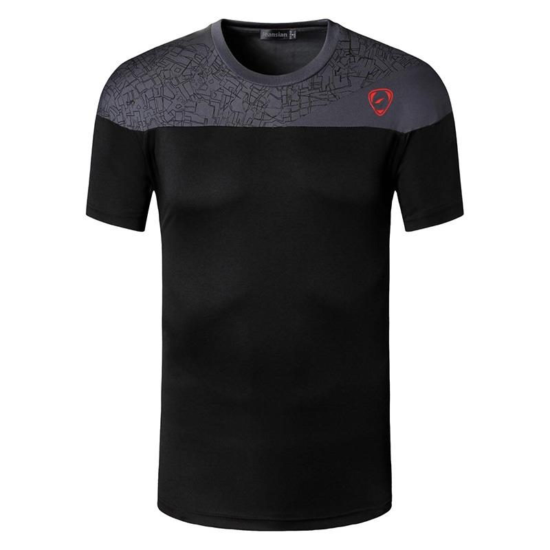 Nieuwe Collectie 2019 mannen Designer T-shirt Casual Sneldrogende Slim Fit Shirts Tops & Tees Maat S M L XL LSL171 (KIES VS FORMAAT)