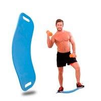 Sport Ćwiczenia Fizyczne Balance Board Stóp Noga Body Szkolenia Joga Nadzorczej Na Skręcanie Talii Skręcanie Jednolity Kolor Darmowa Wysyłka