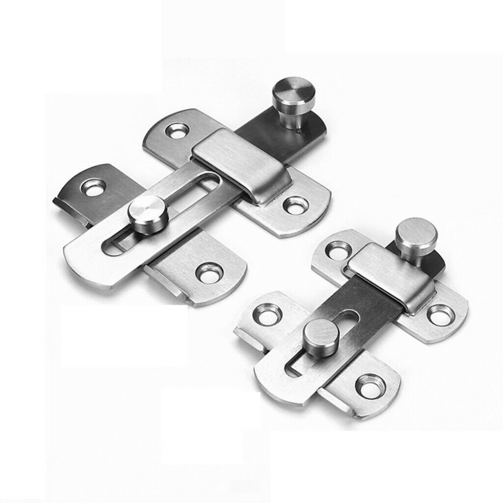 Stainless steel LATCH FOR GATE Home Garden STABLE SHED BACK DOOR BOLT LockStainless steel LATCH FOR GATE Home Garden STABLE SHED BACK DOOR BOLT Lock