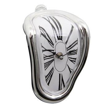 Derretendo relógio Início do projeto Da Arte grande pendurado relógios de parede relógio silenciosa decoração de casa decoração de parede de moda relógios relojes