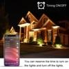 Smart Floodlight LED Outdoor Light RGB 15W Bluetooth4 0 360 APP Group Control IP66 Garden Waterproof Color Changing Spotlight discount
