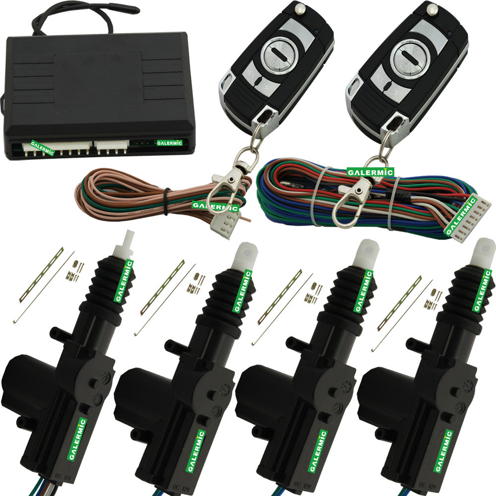 Car Central Door Locking System With Direction Light Flash 1 Master