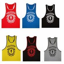 L09 2016 New Men's 100% cotton Fitness Gym biking Vest Muscle Tank Tops Bodybuilding & Workouts Sportswear Singlet undershirt