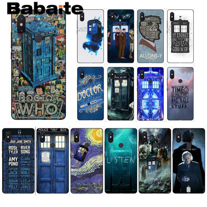 Half-wrapped Case Cellphones & Telecommunications Faithful Babaite Doctor Who Tardis Illustrations Blue Phone Case For Xiaomi Mi 6 Mix2 Mix2s Note3 8 8se Redmi 5 5plus Note4 4x Note5 Rich And Magnificent