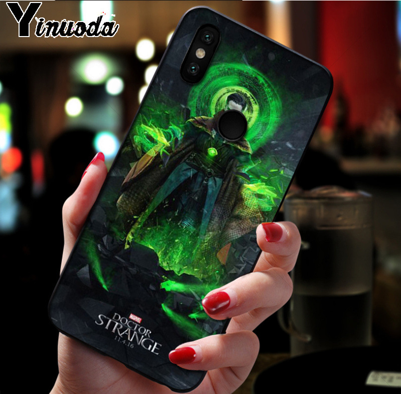 Cellphones & Telecommunications Ynuoda Marvel Doctor Strange Comic Colored Drawing Soft Tpu Phone Case For Xiaomi Mi 8se 6 Note2 Note3 Redmi 5 Plus Note5 Cover