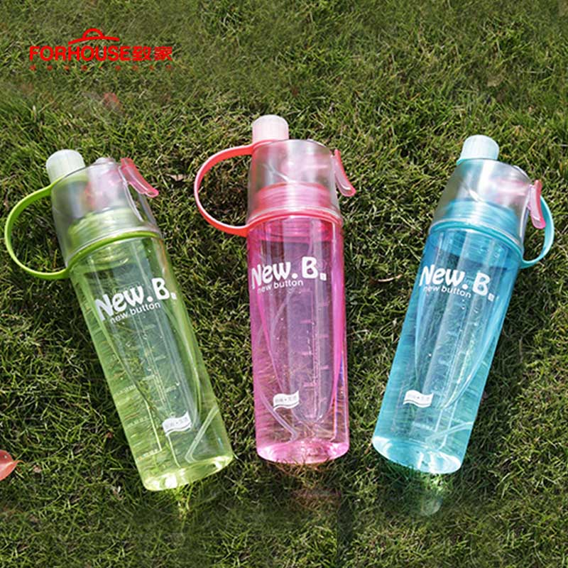 500ml bpa free portable water bottle leakproof plastic kettle for travel zi