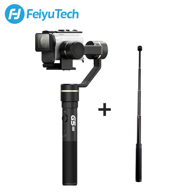 FeiyuTech Feiyu G5GS Gimbal 3 Axis Handheld Stabilizer for Sony AS50 AS50R  Sony X3000 X3000R Camera Splash Proof for 130g 200g