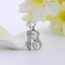 Silver 925 jewelry charms for jewelry making Small sterling silver pendant Necklace pendant Jewelry processing accessories 925 sterling silver jewelry necklace pendant retro evil vajra pestle jiangmo avoid evil spirits musical instruments