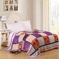 Лето коралловый флис одеяла на кровати камуфляж фланелевое одеяло, диван бросить одеяло британский стиль твин полный queen size