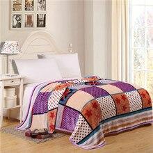 Verano camuflaje manta de franela coral polar manta de la cama sofá throw manta estilo británico de doble tamaño completo queen