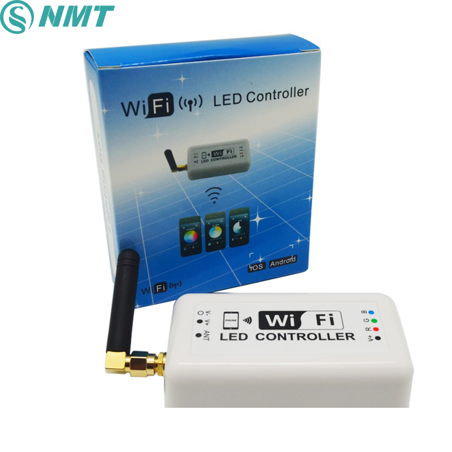 Dc12v 24v Wifi Led Dimmer Controller 12a 2.4ghz Rgb /color Temperature /dimmable Mini Smart Home Control By Android/ios Excellent In Cushion Effect Lighting Accessories Lights & Lighting