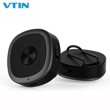 VTIN Portable Clip Wireless Transmitter Receiver HD RX TX Adapter Headset Car TV Audio Home Stereo AUX Volume Control Microphone