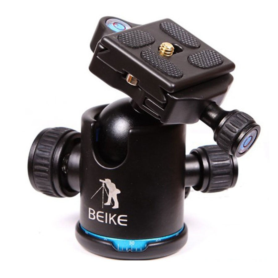Blue-BEIKE-BK-03-Aluminum-Camera-Tripod-Ball-Head-Ballhead-with-Quick-Release-Plate-1-4