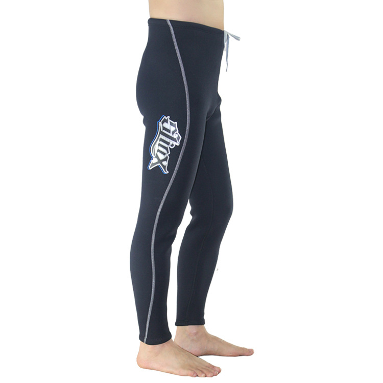 3mm submersible thermal trousers full wear resistant liner mercerizing submersible terry cloth pants