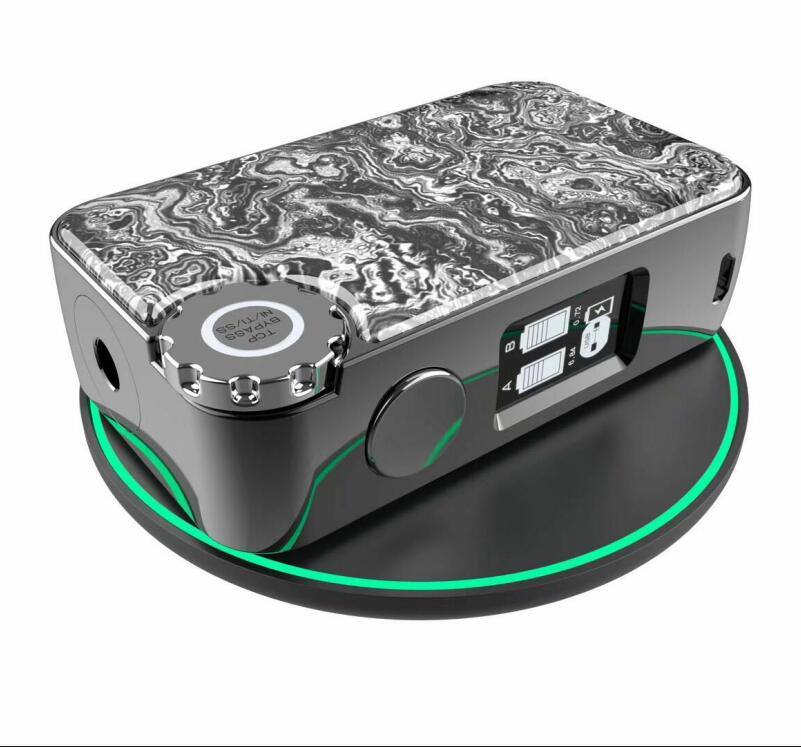 Boîte de chargement sans fil 222 w TC boîte mod