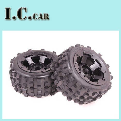 baja 5B Knobby Wheel Set for 1 5 HPI Baja 5B SS Parts Rovan KM