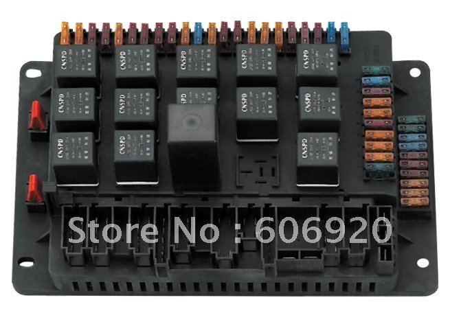 24 V 32 Circuit Fuse Box Assy Universal Type Of Auto Parts