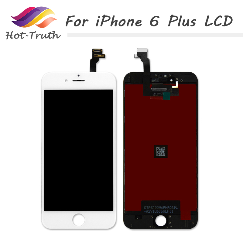 Hot-Truth 20 PCS Factory On Sale For iPhone 6 Plus LCD Display Touch Screen Complete Digitizer Assembly Free DHL Fast Shipping