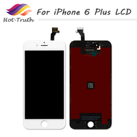 ET Super 5 5inch 2 Color 20 PCS For IPhone6 Plus LCD Display Touch Screen Complete