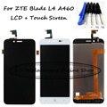 Negro/blanco 5.0 pulgadas para zte blade l4 a460 lcd display + touch screen reemplazo del digitizador assembly + herramientas gratuitas