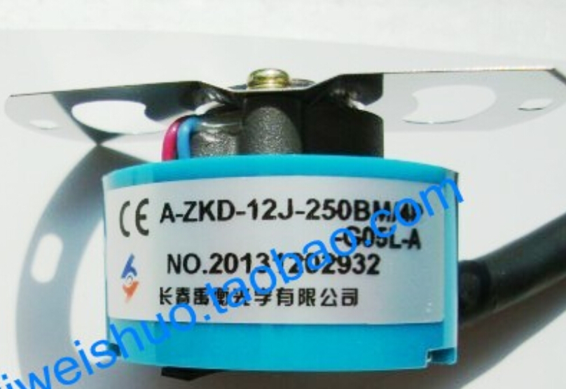 Changchun Yu Heng An optical encoder A-ZKD-12J-250BM-4P-G05L-A Mandarin motor encoder new original