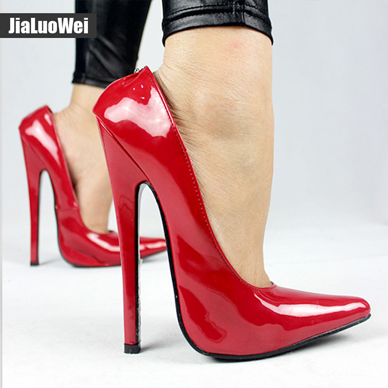 buy jialuowei fetish 6 inch extreme heel. Black Bedroom Furniture Sets. Home Design Ideas