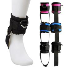 Ankle Strap Thigh Adjustable Cable Attachment Fitness Sports Gym Cuff Wrist Belt Weight Lifting Foot Buckle Exercise Machine