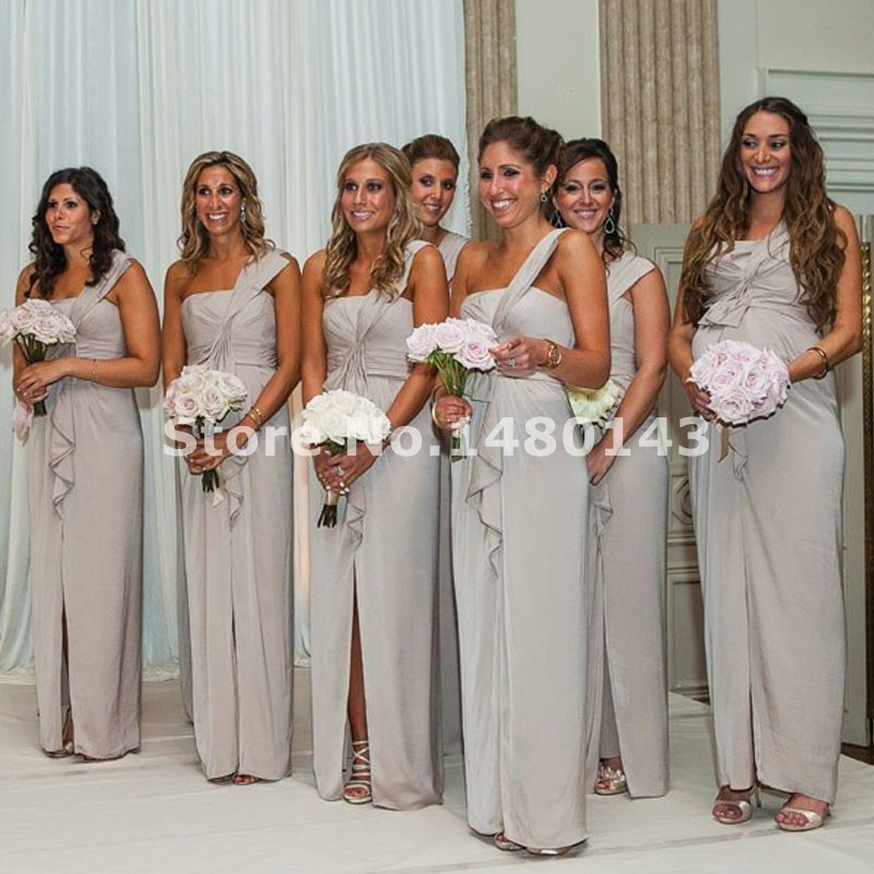 Online Buy Wholesale light grey bridesmaid dresses from China ...