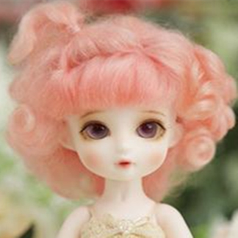 5-6 BJD Doll wig pukifee wig mohair 3 color 1 6 yosd bjd wig guyomi mohair wig 6 7inch doll accessories
