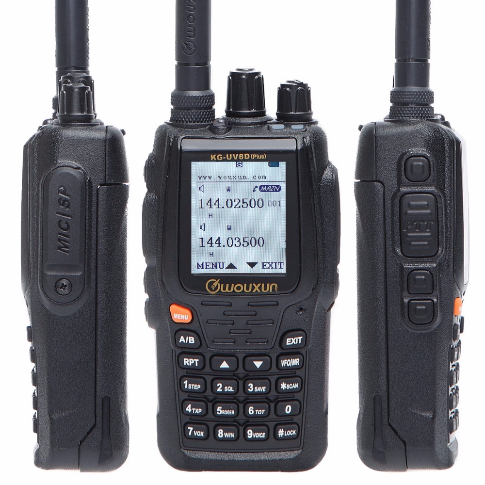 Wouxun KG-UV8D Professional Dual//Cross-Band Scaner Duplex Repeater Two Way Radio