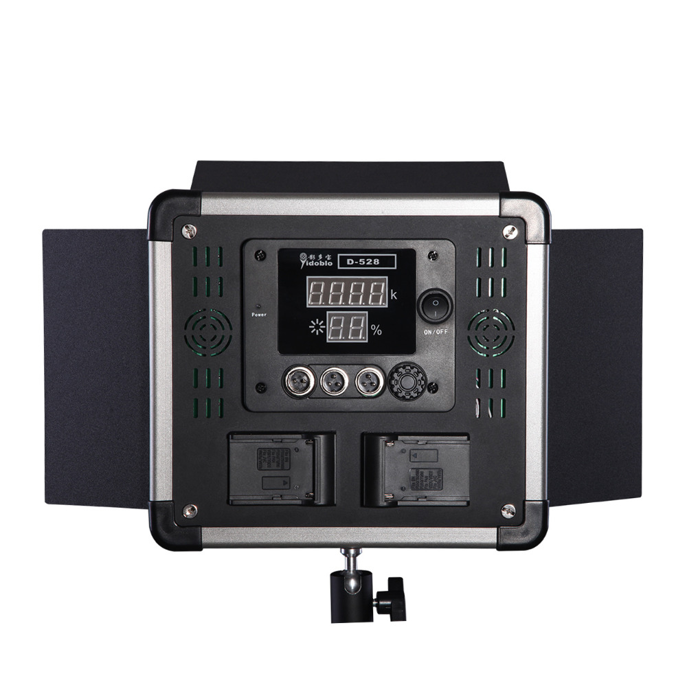DHL 1 tk Super Slim LED Lamp Professional Jätka valgustust D-528 40W - Kaamera ja foto - Foto 3