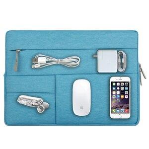 "Image 2 - MOSISO Waterproof Laptop Bags Sleeve Notebook Case for Lenovo Macbook Air 13.3 inch Cover Retina Pro 13.3""zipper bag Computer Ba"