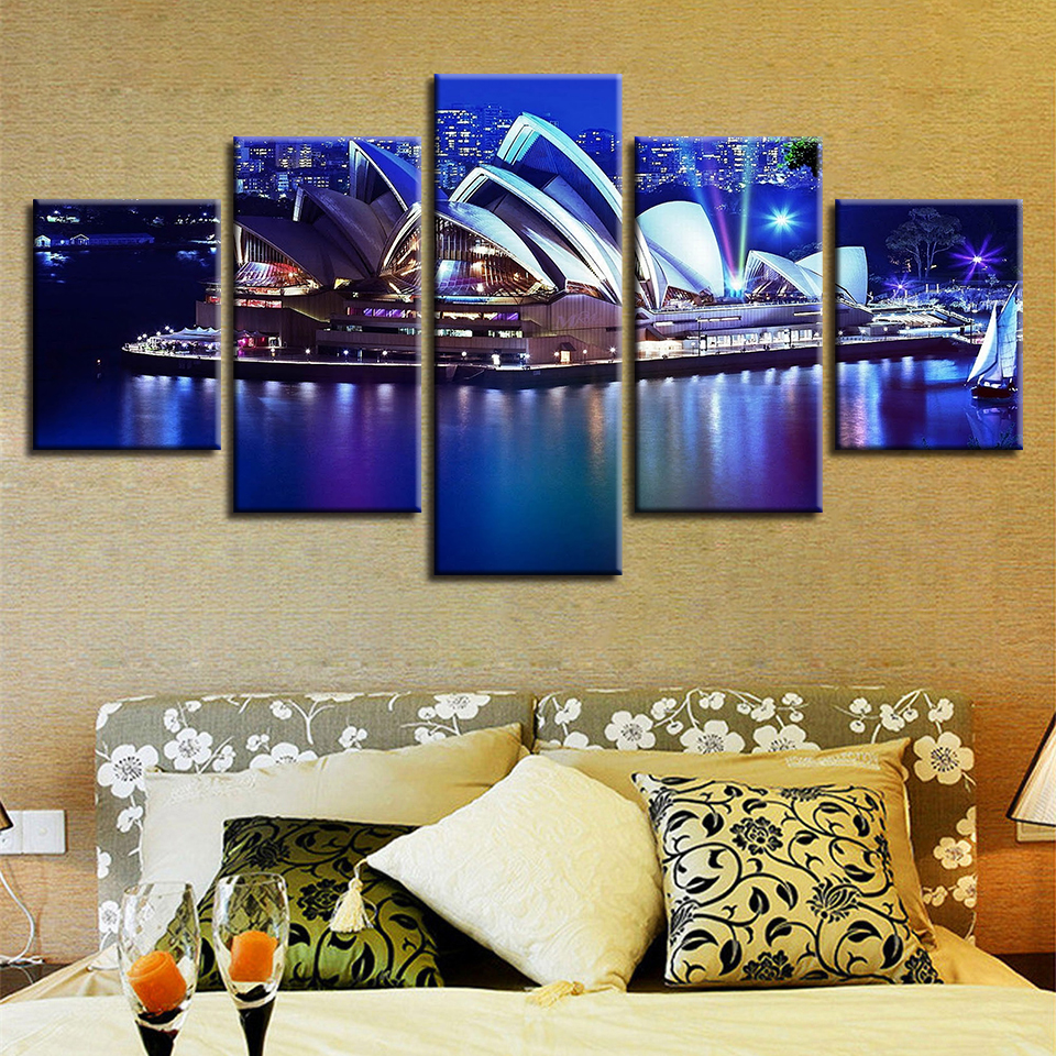 Modular Wall Art Poster Home Decor Living Room Pictures 5