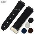 Watchbands Sport  Black Brown White Blue Silicone Rubber Watch Band Strap Bracelet Sale Band Sweatband Wrist 26mm New  Men Women