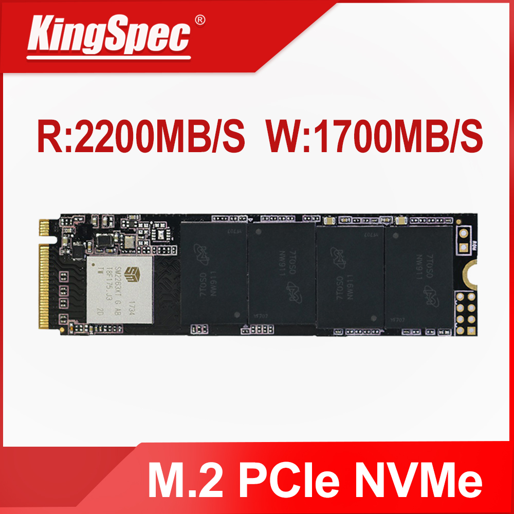 KingSpec NVMe SSD M2 PCIe 2280 M 2 1 TB Hard Disk SSD 1TB Internal Hard