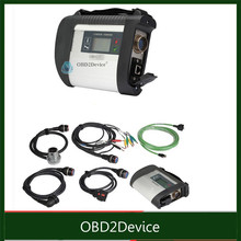 Free fast ship mb star c4 sd connect with Full set cables diagnosis tool mb star sd c4 series number 100925 with hdd