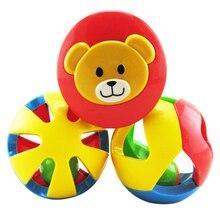 3pcs/lot Baby Rattle Toys Cute Funny Loud Gym Jingle Ball Rattling Bell Bebe Crawling Balls Kids Children Development Toy