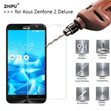2.5D 0.26mm 9H Premium Tempered Glass For Asus Zenfone 2 Deluxe ZE551ML ZE550ML 5.5 Screen Protector Toughened protective film *