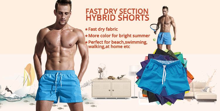 Aimpact Quick Dry Board Shorts for Men Summer Casual Active Sexy BeachSurf Swimi Shorts Man Athlete Gymi Home Hybird Trunks PF55 3