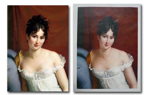 Custom Oil Painting Reproduction on Canvas hand painted famous painting for home decorCustom Oil Painting Reproduction on Canvas hand painted famous painting for home decor